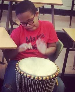 Marcus Garvey drummer